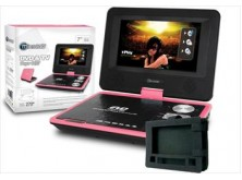"DVD / TV portatil 7"" Pink + funda"